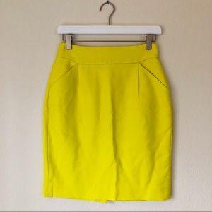 J. Crew The Pencil Skirt Cotton